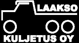 Kuljetus Laakso valkoinen logo